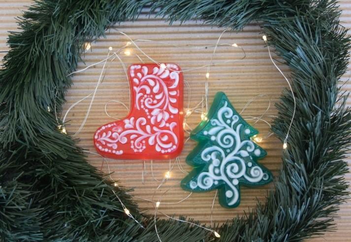 """ΧΡ43 """"Χριστουγενν. δέντρο 2"""" (43Δ) – """"Χριστουγεννιάτικη μπότα """" (43Μπ)"""