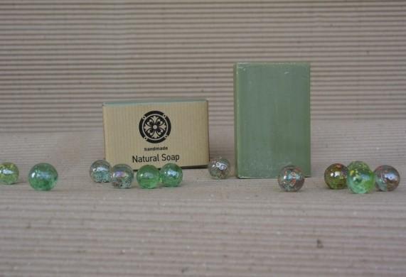Παραδοσιακό πράσινο σαπούνι ελαιολάδου